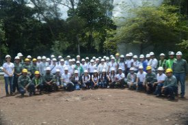 Short Course participants and instructors at the Ahuachapán geothermal field